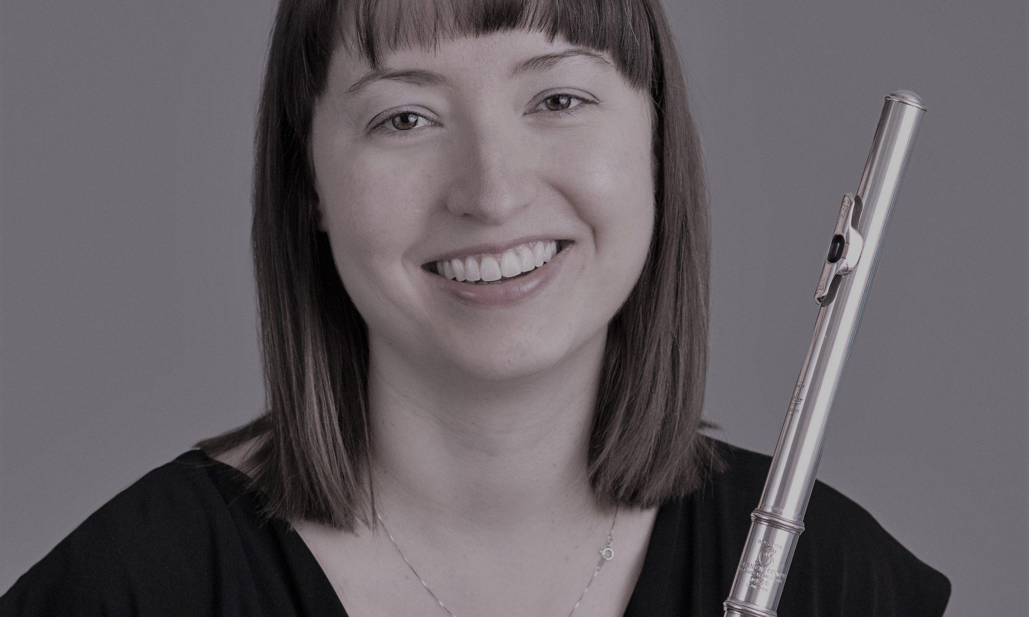 Dr. Sasha Garver, flute